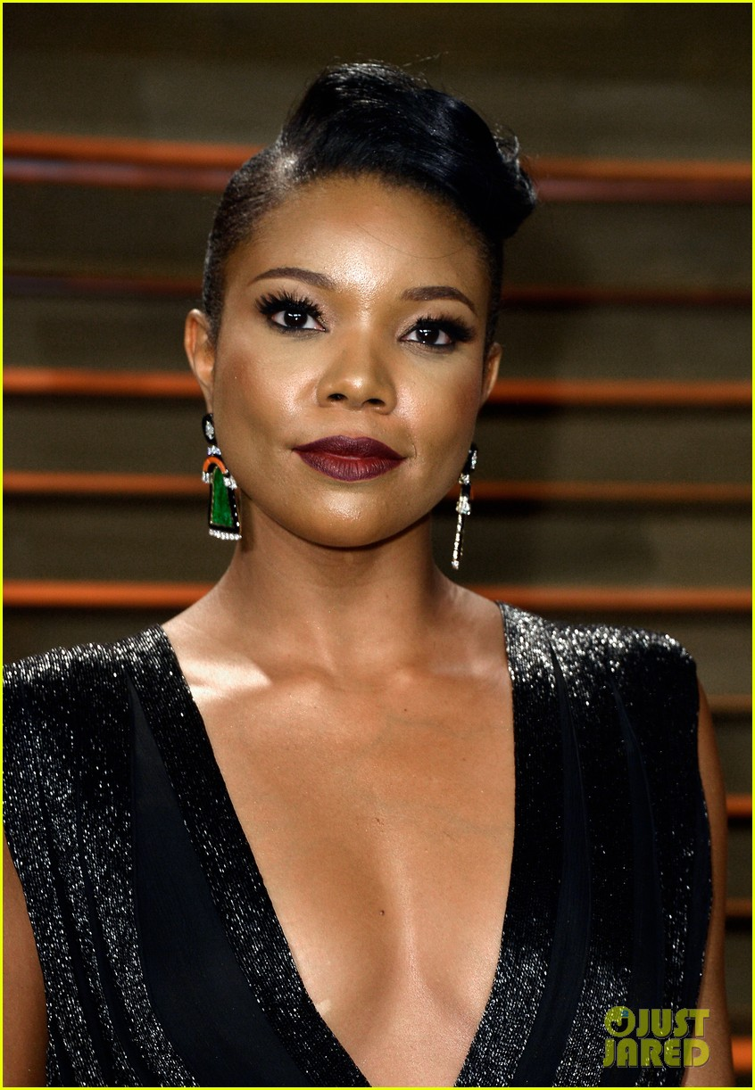 gabrielle union calls lupita nyongo perfection before vanity fair oscars party 2014 02