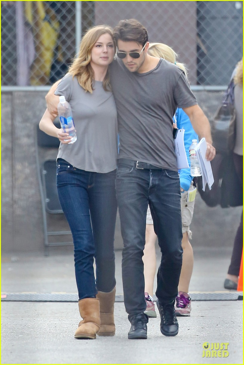 emily vancamp josh bowman wrapped up 243078145