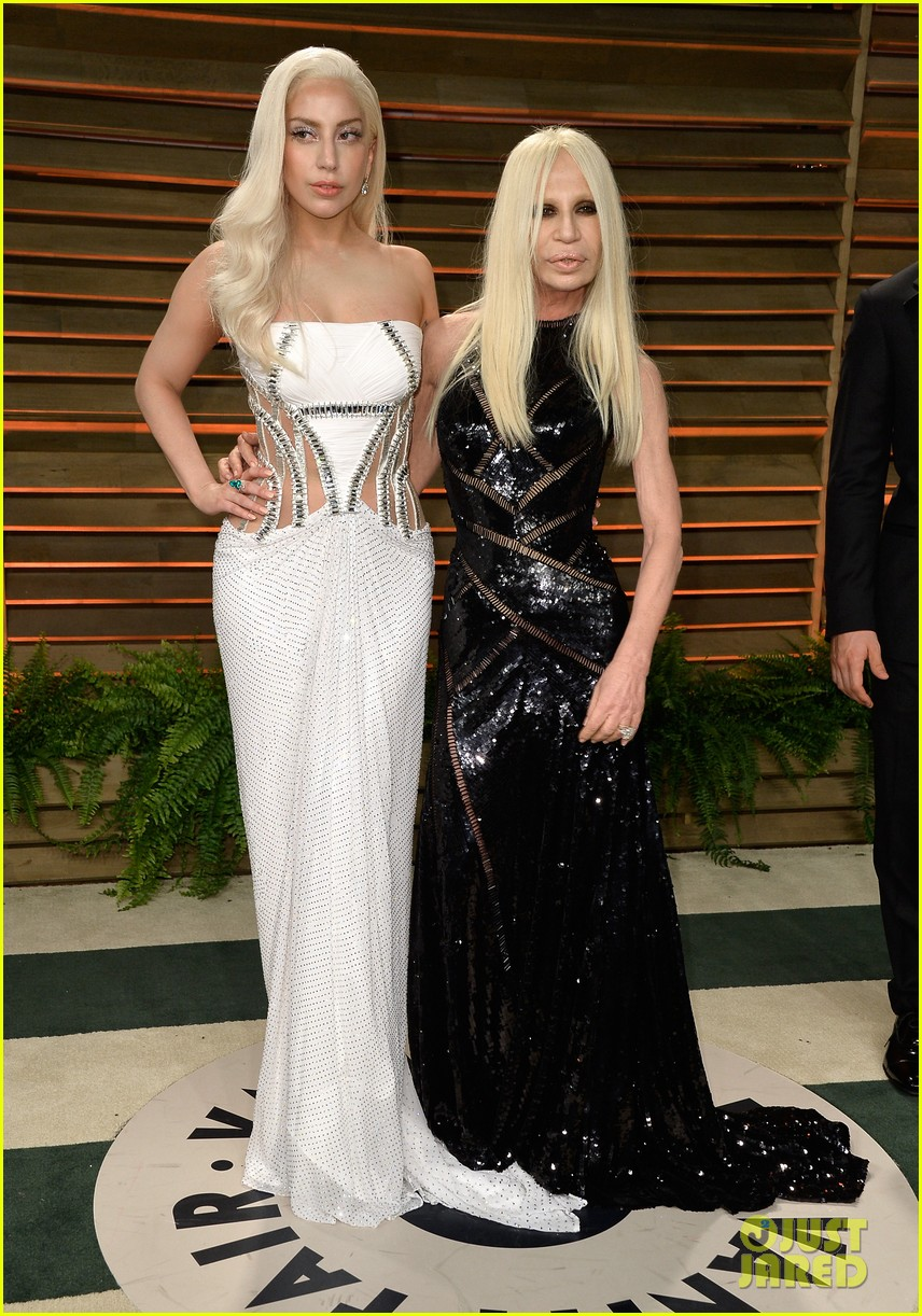 donatella versace vanity fair oscars party 2014 with lady gaga nolan gerard funk 03