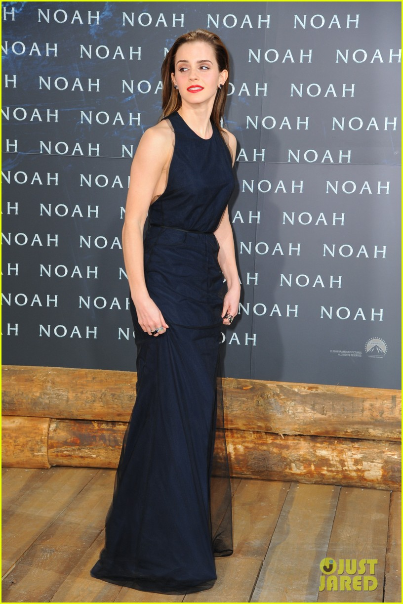 emma watson begins noah press tour premieres the film in berlin 08