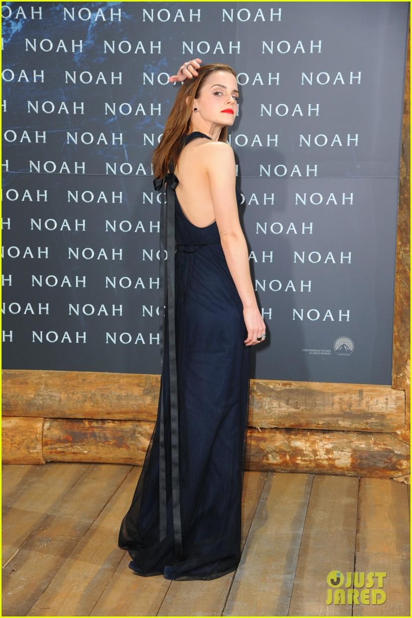 emma watson begins noah press tour premieres the film in berlin 09