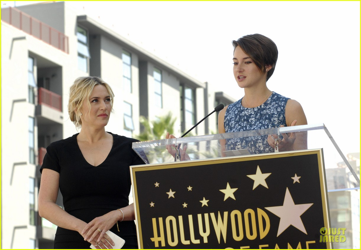 kate winslet shailene woodley hollywood walk of fame 073073491