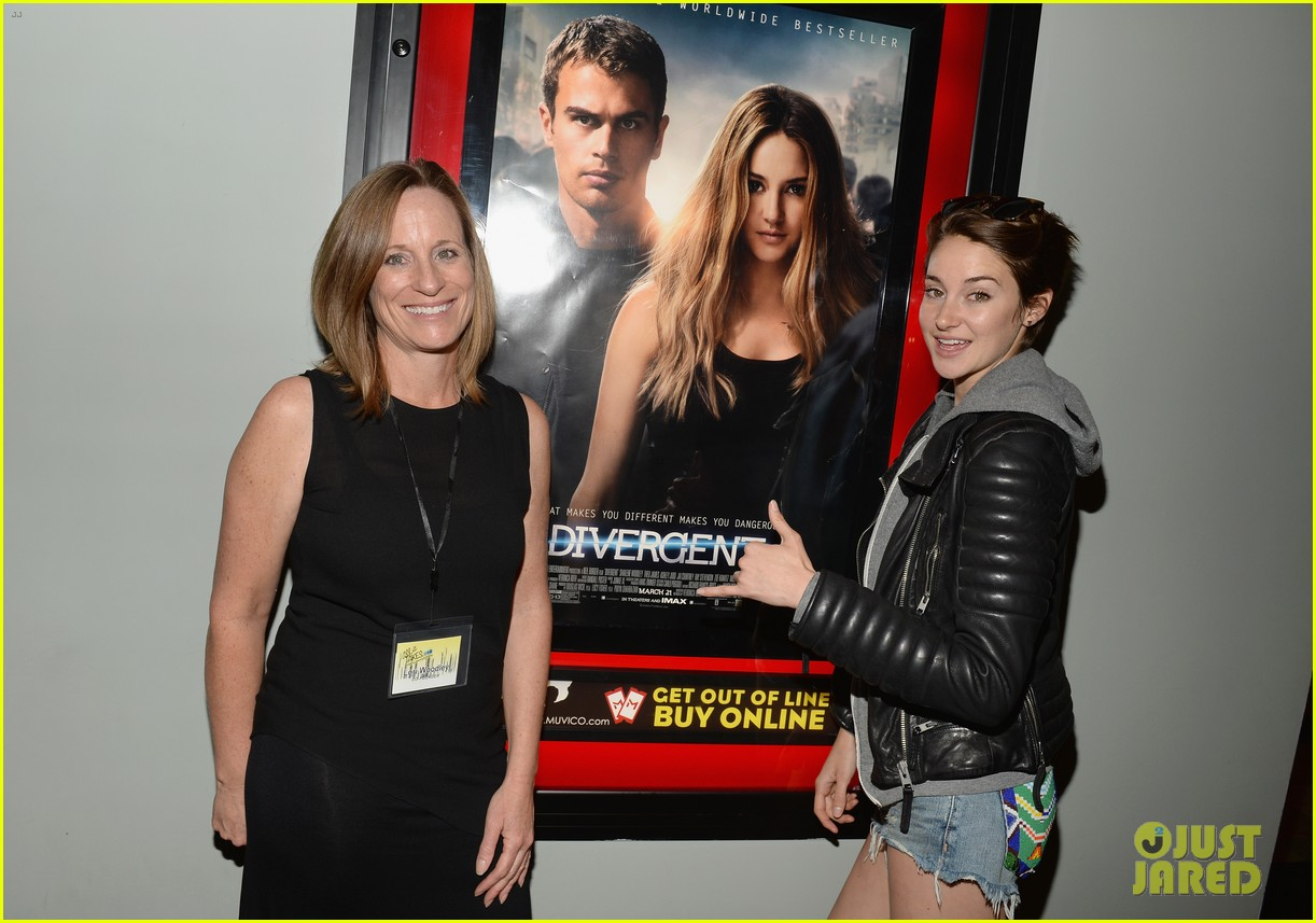 shailene woodley theo james all it takes divergent screening 13