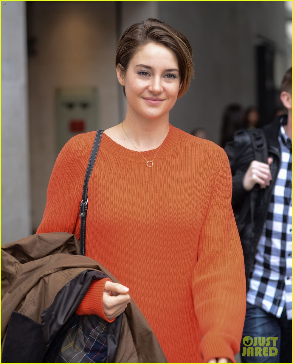 shailene woodley theo james divergent bbc radio one 18