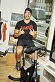 entourage jeremy piven nina agdal reunite for cycling fun 19