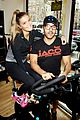 entourage jeremy piven nina agdal reunite for cycling fun 26