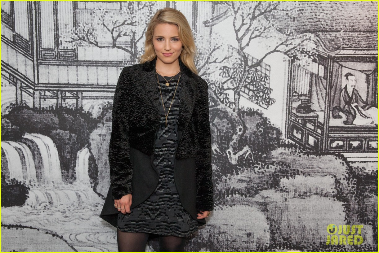 dianna agron steps out for secret alunageorge show at w hotel 02