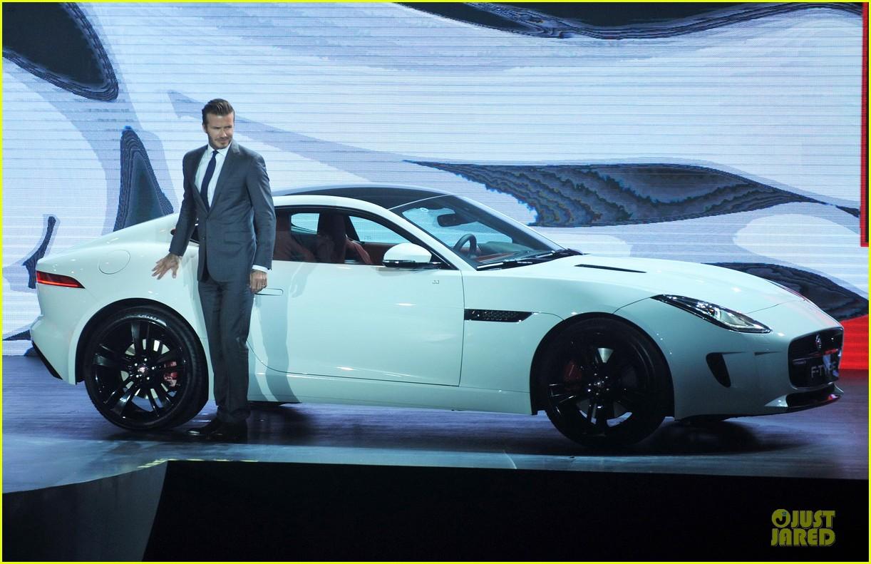 david beckham wow us without driving jaguar 103096026