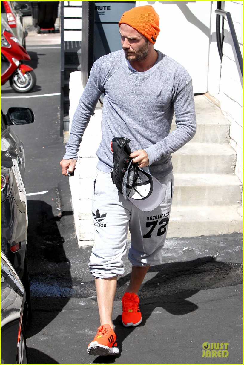 david beckham amazing body at soulcycle 12