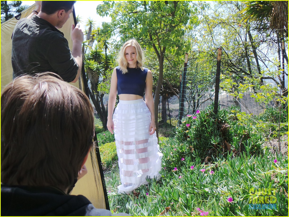 kristen bell just jared spotlight behind the scenes 133086987