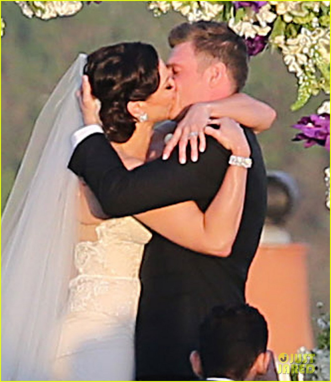 backstreet boys nick carter is married wedding photos 043090082