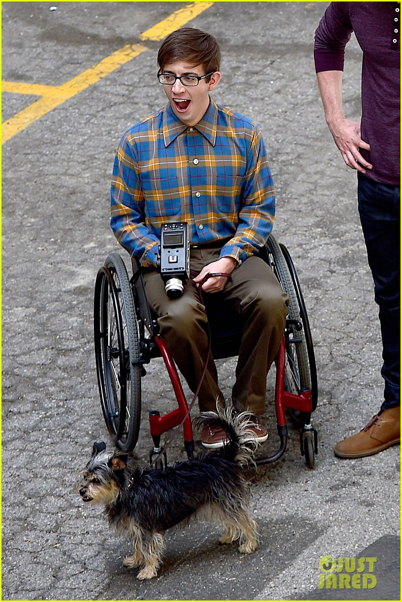 chord overstreet dotes on a dog its really cute 043098246