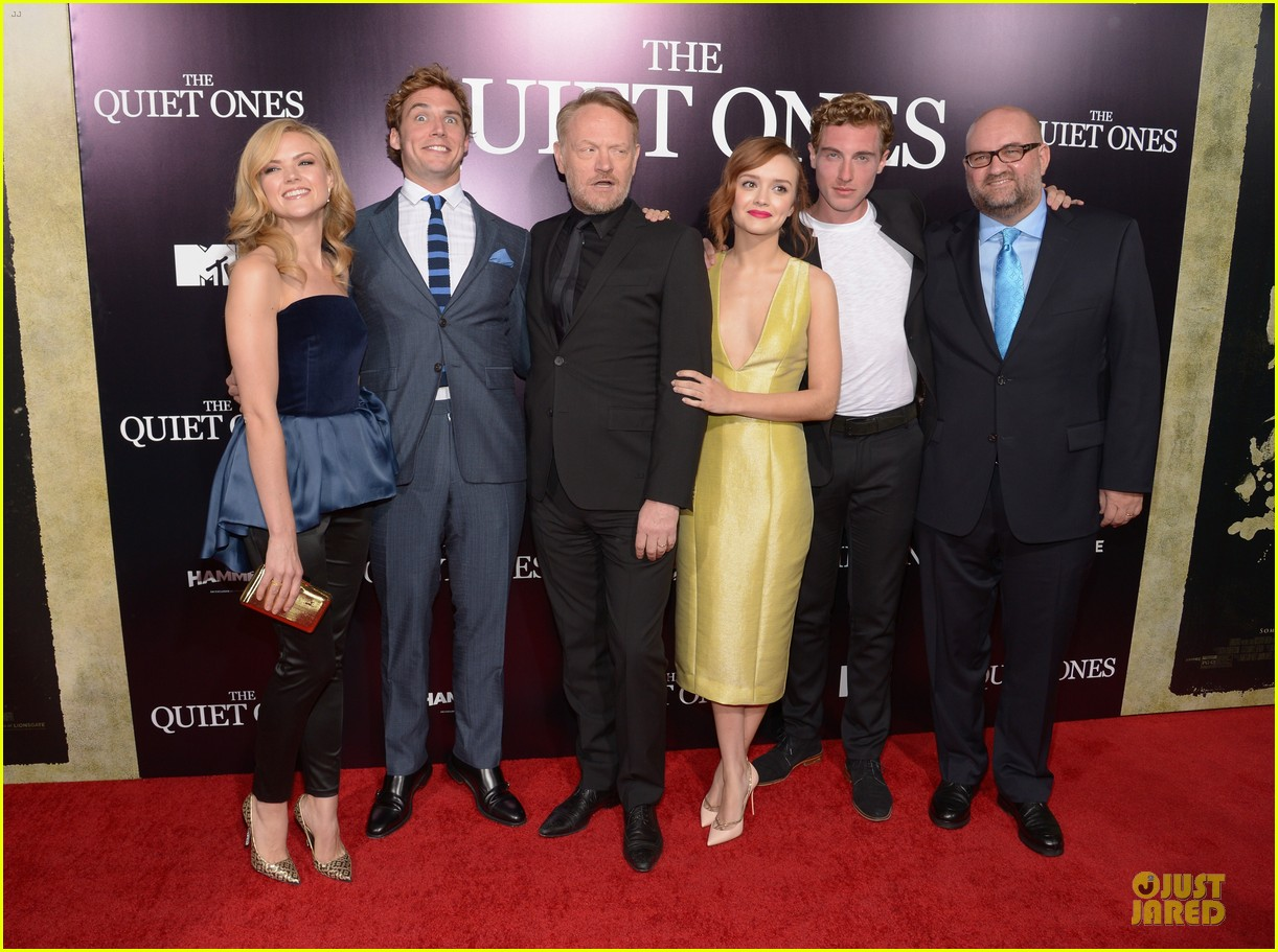 sam claflin laura haddock the quiet ones premiere 103097150