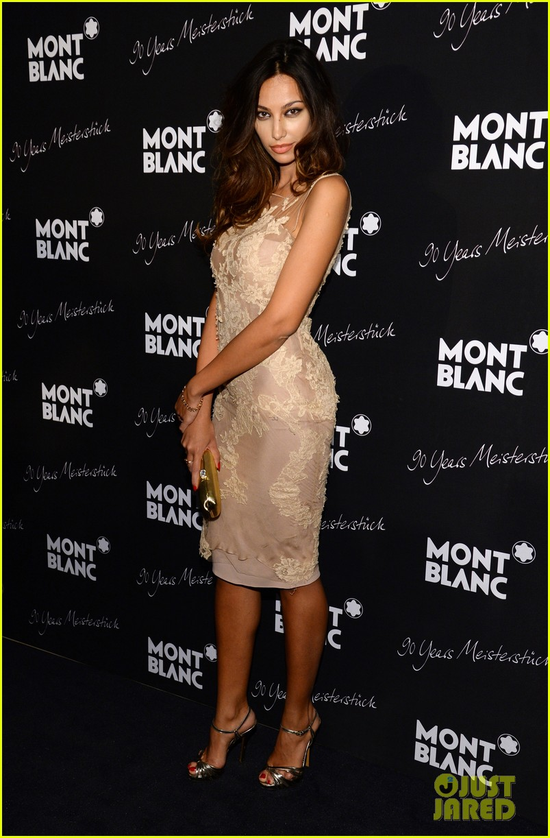rosario dawson madalina ghenea montblanc celebrate 90 years of the iconic meisterstuck 17