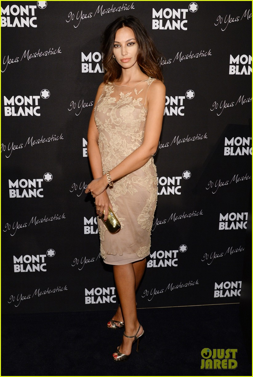 rosario dawson madalina ghenea montblanc celebrate 90 years of the iconic meisterstuck 18