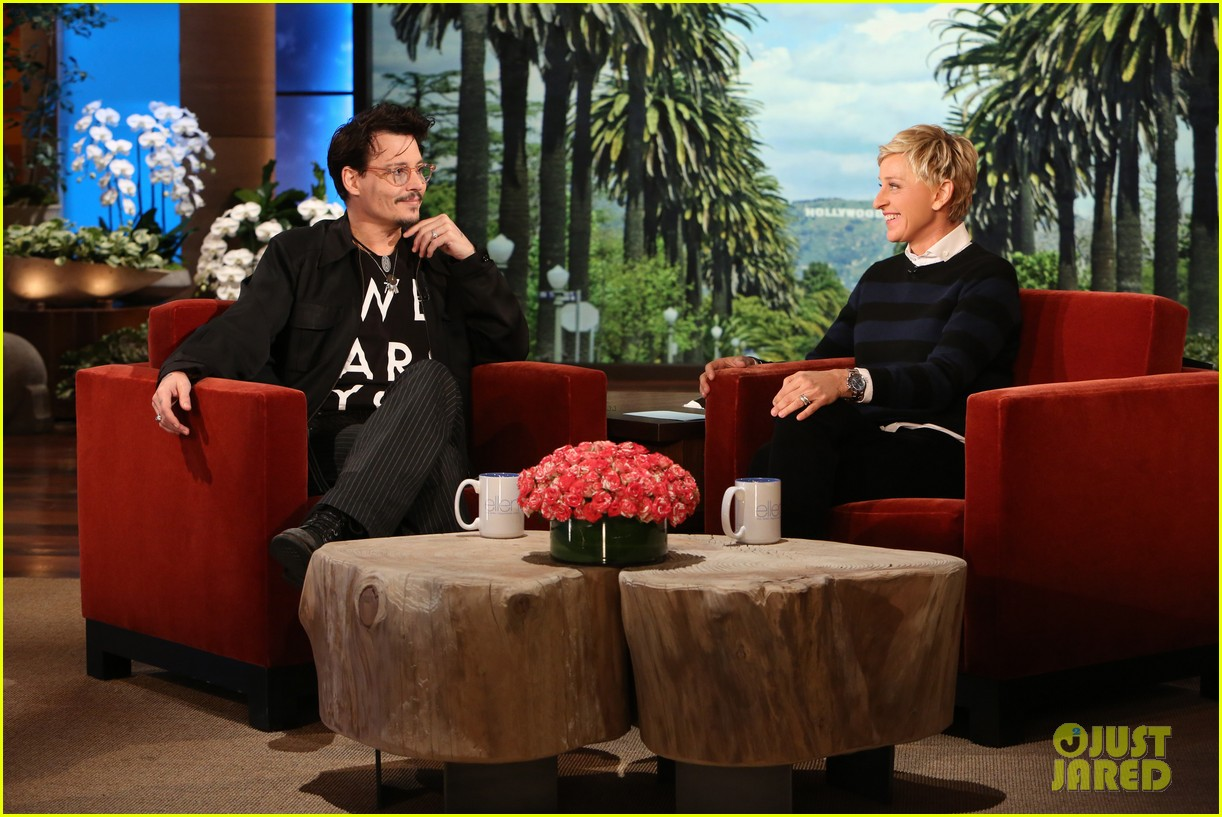 johnny depp talks feeling calmer since turning 50 on ellen 02