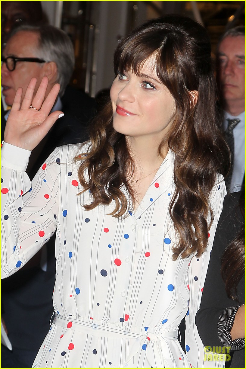 zooey deschanel tommy hilfiger collection launch 13