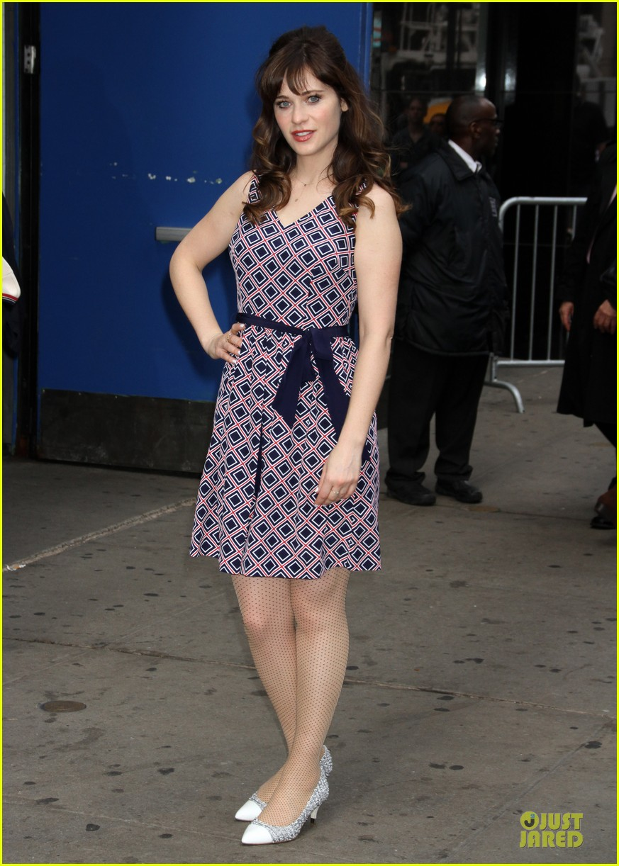 zooey deschanel tommy hilfiger collection launch 213092509