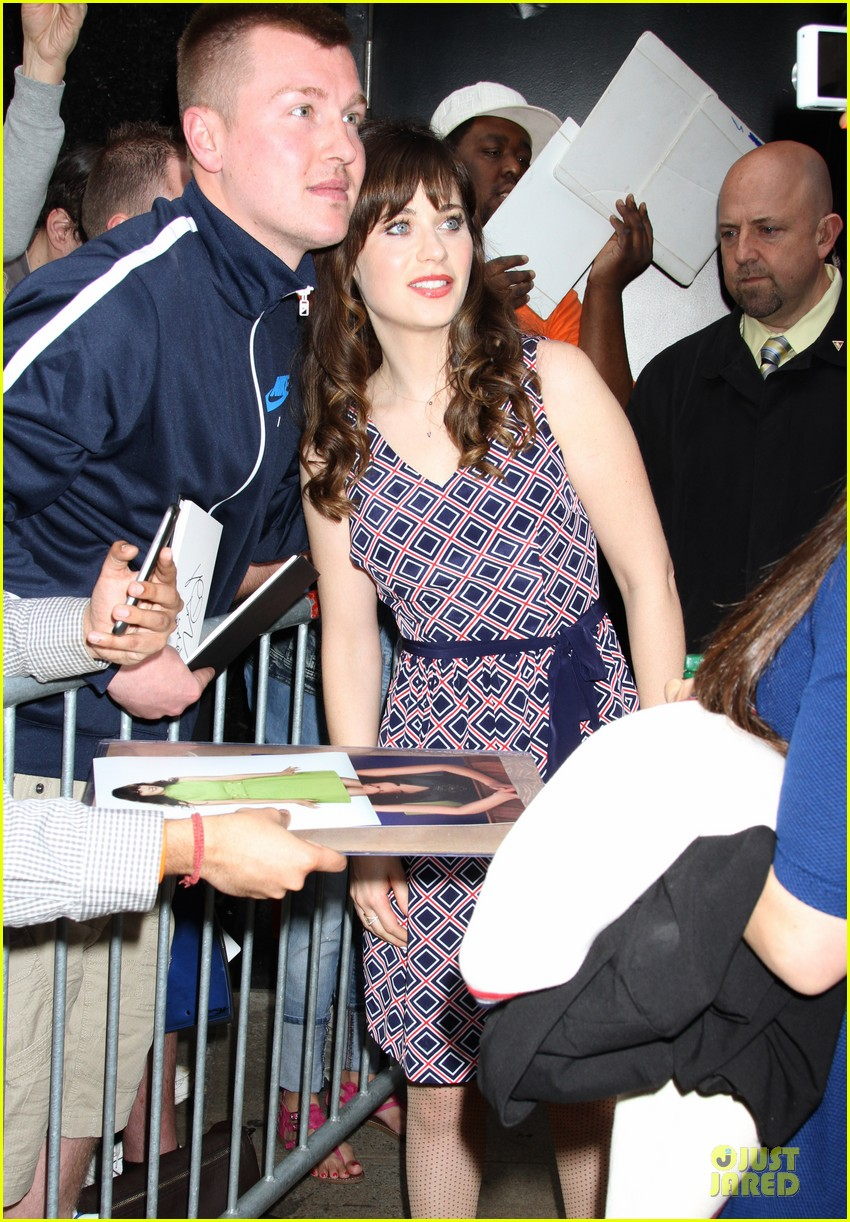 zooey deschanel tommy hilfiger collection launch 223092510