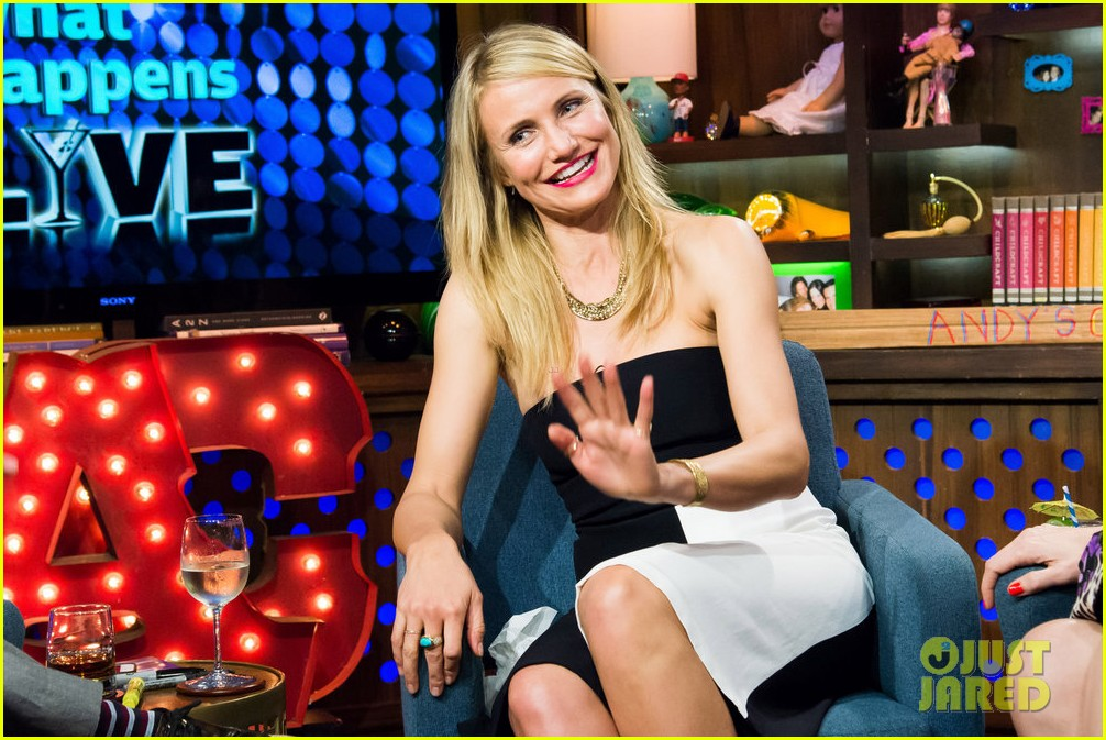 cameron diaz confirms shes been with a woman watch what happens live 06