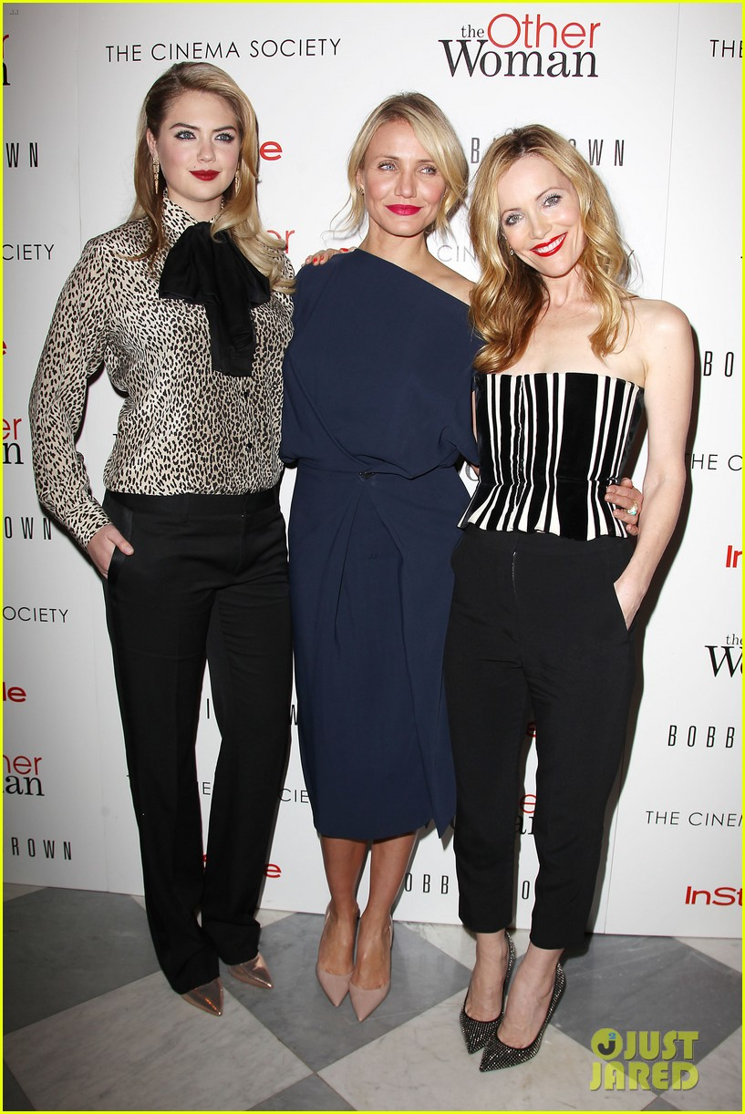 cameron diaz leslie mann kate upton final other woman screening 25