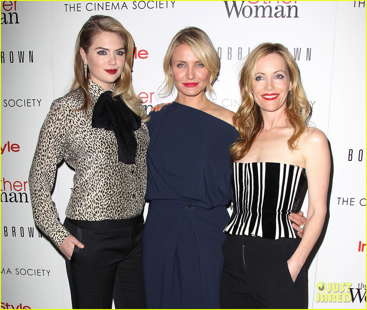 cameron diaz leslie mann kate upton final other woman screening 26