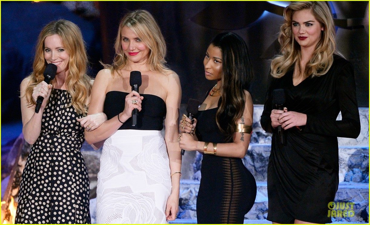 cameron diaz kate upton mtv movie award 2014 053091439