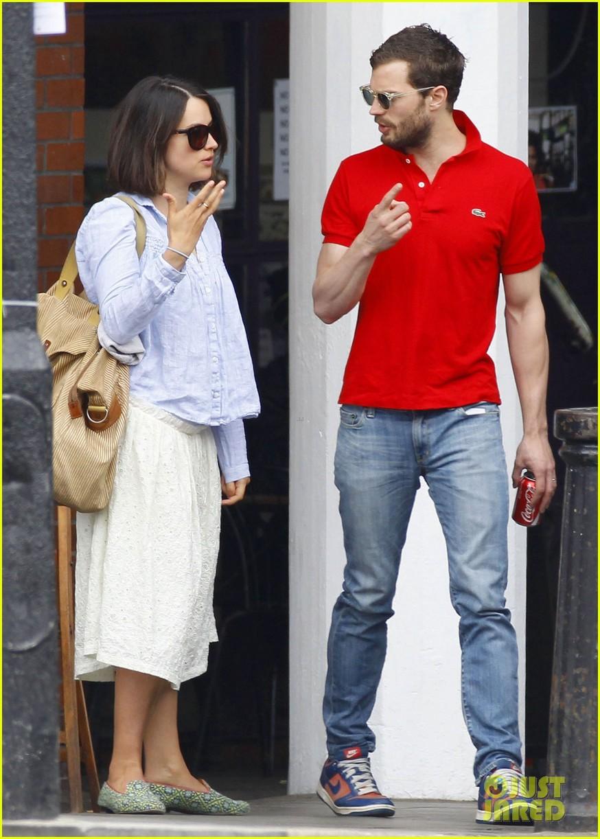Jamie Dornan Treats His Wife