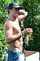 scott eastwood shirtless body at coachella 13