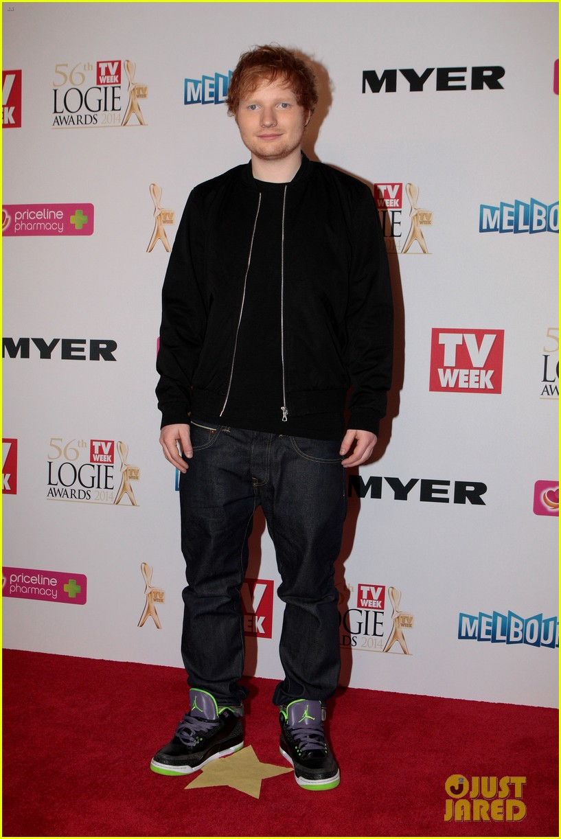 ed sheeran jason derulo down under logie awards 2014 10
