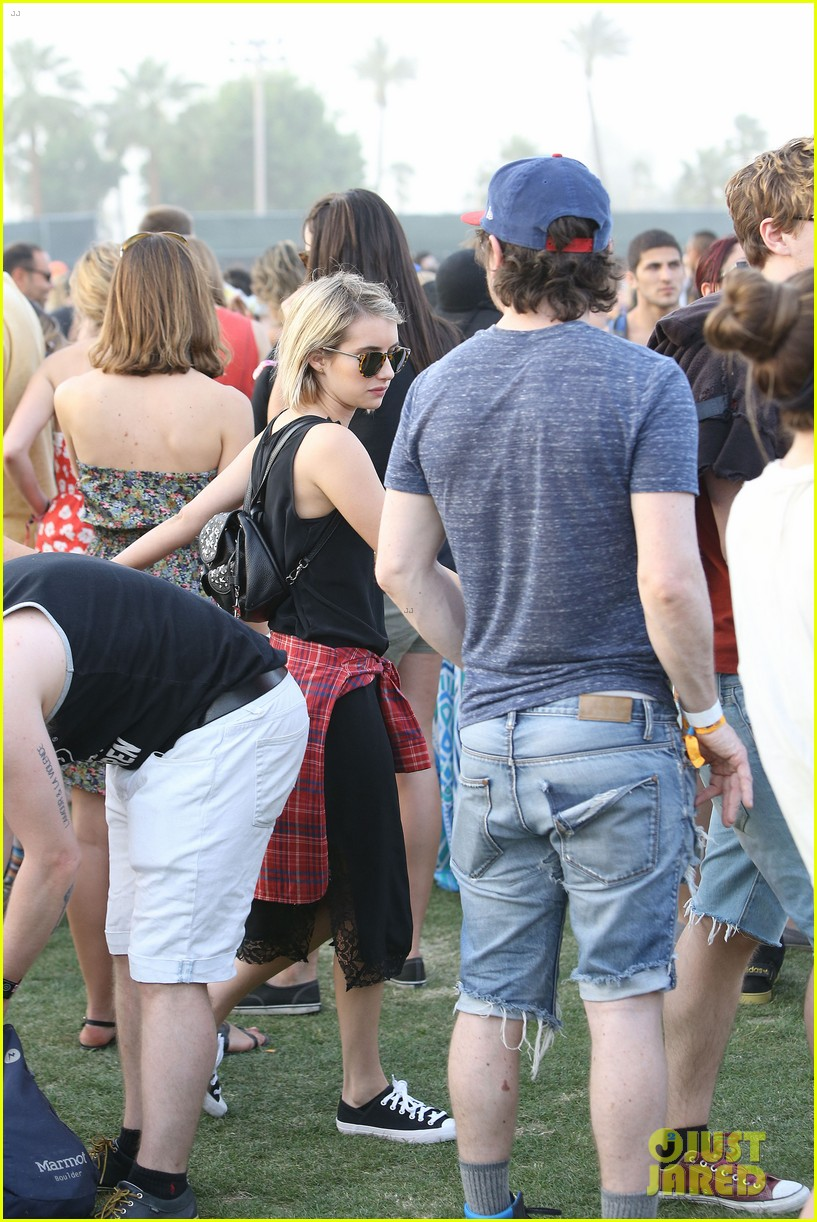 emma roberts evan peters inseparable coachella 2014 063090729