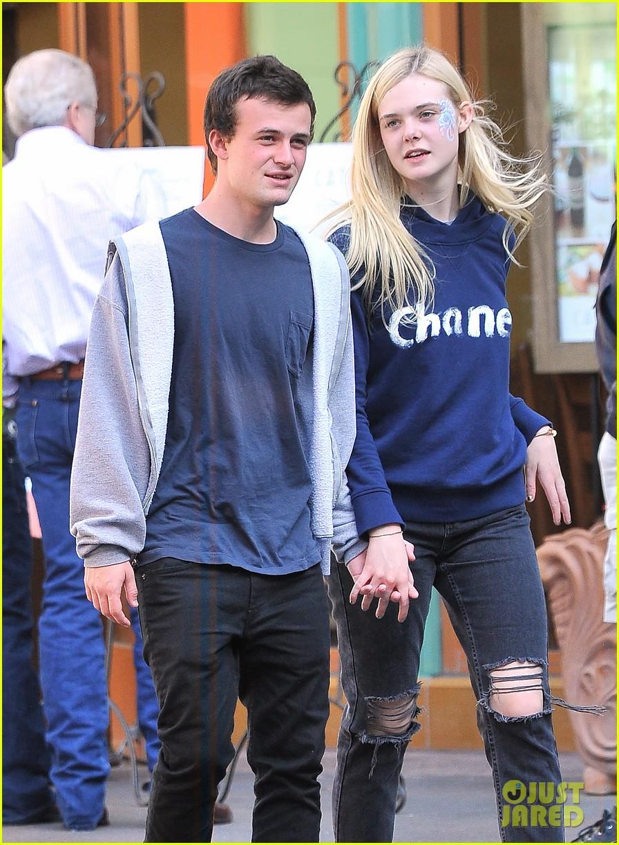 Dakota Fanning, 19, Holds Hands With 32-Year-Old Boyfriend