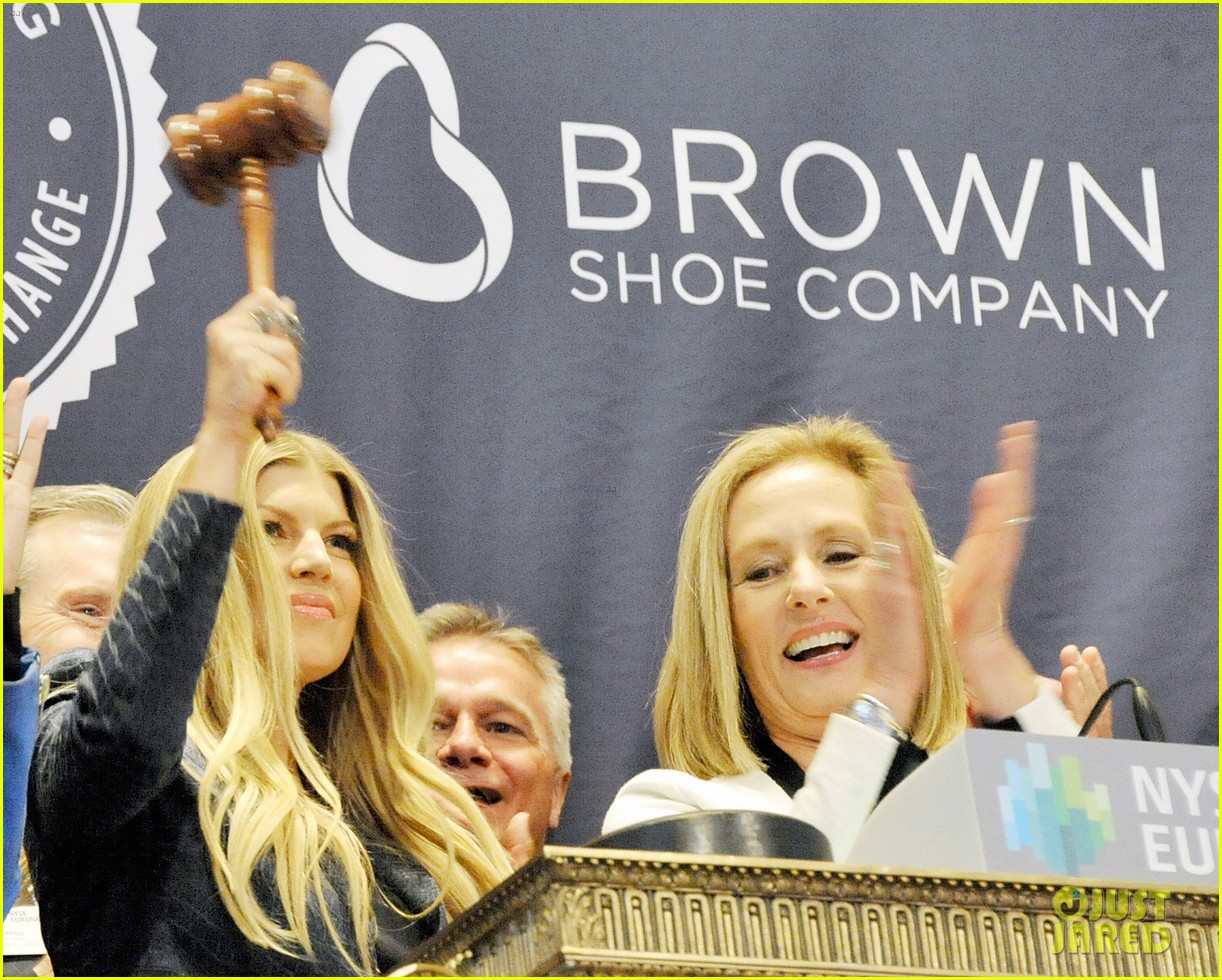 fergie jennifer hudson celebrate major milestone brown shoe company 11