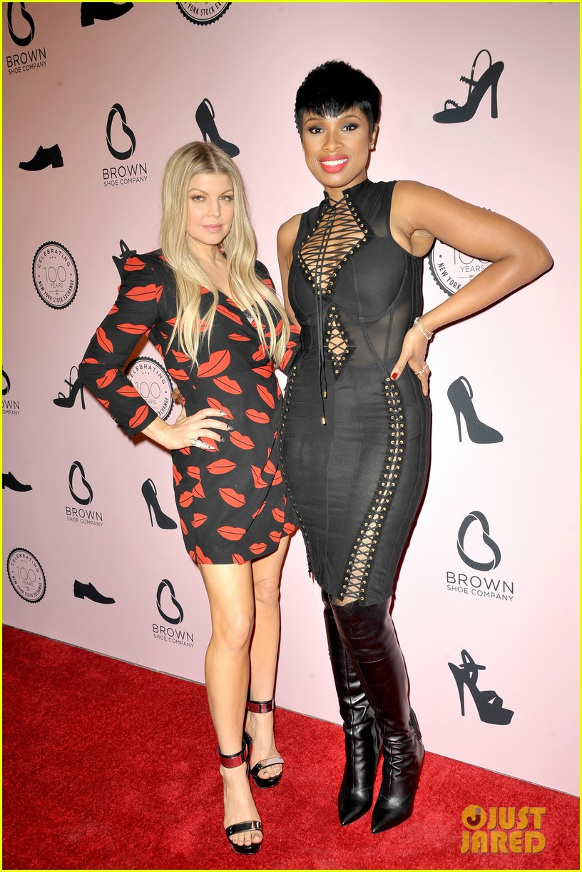 fergie jennifer hudson celebrate major milestone brown shoe company 123097838