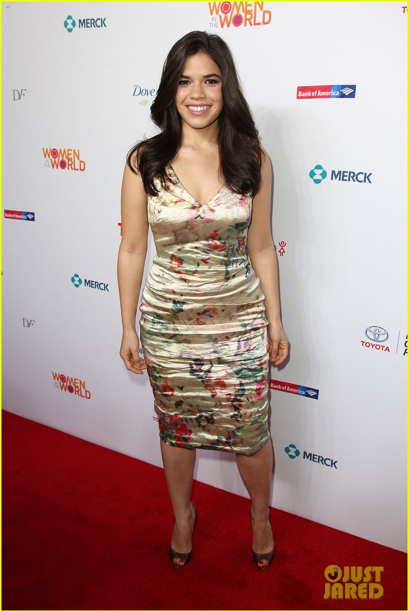 america ferrera coco rocha women in the world summit 2014 263084449