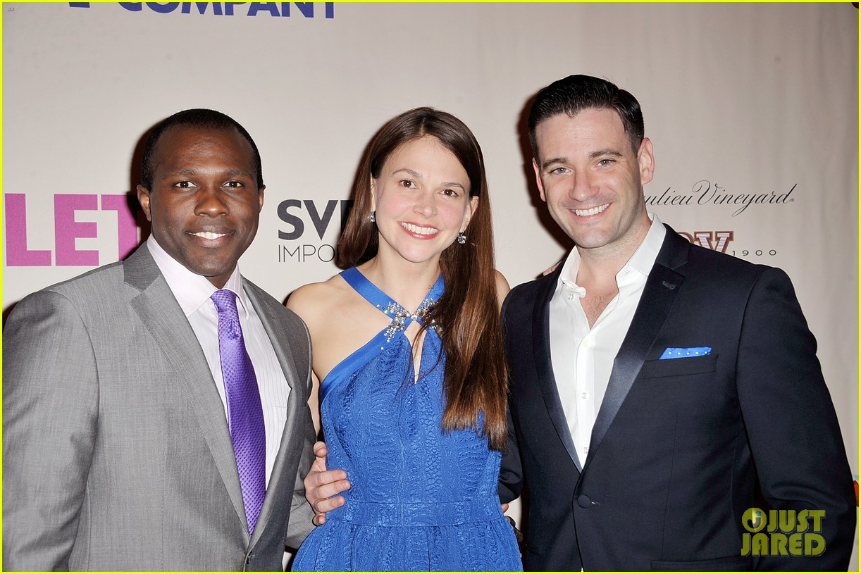 sutton foster colin donnell violet opening night 03