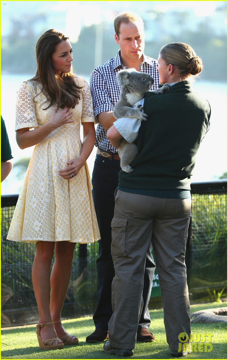 prince george goes to the zoo kate middleton prince william 033095504