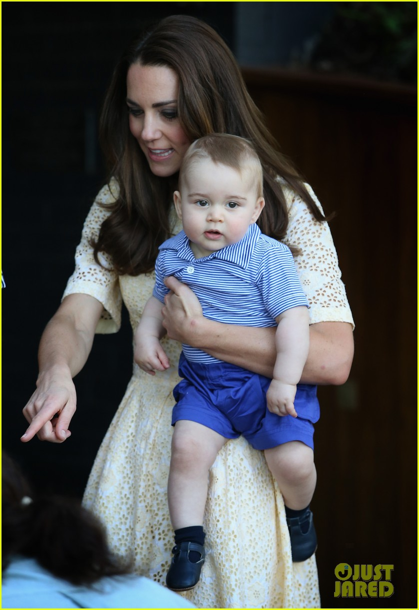 prince george goes to the zoo kate middleton prince william 223095523