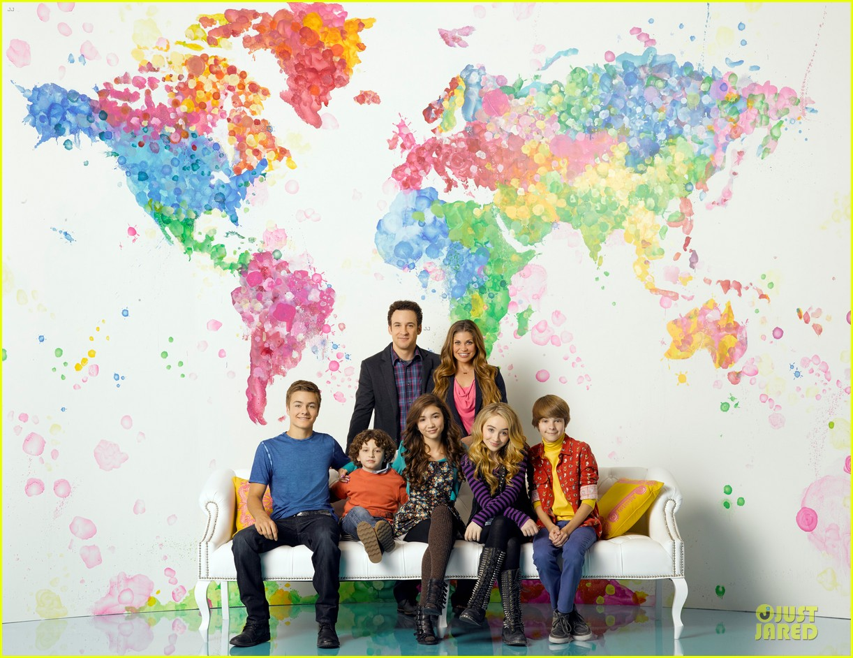girl meets world family photo 013083494