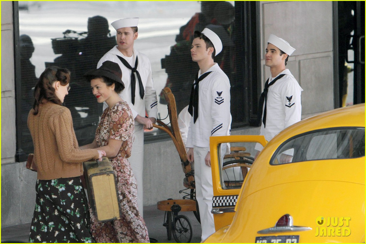 glee guys transform into super hot sailors check out their vintage fleet week looks 05