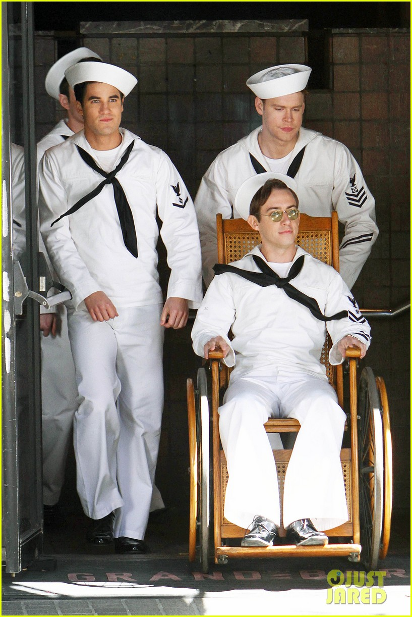 glee guys transform into super hot sailors check out their vintage fleet week looks 063083309