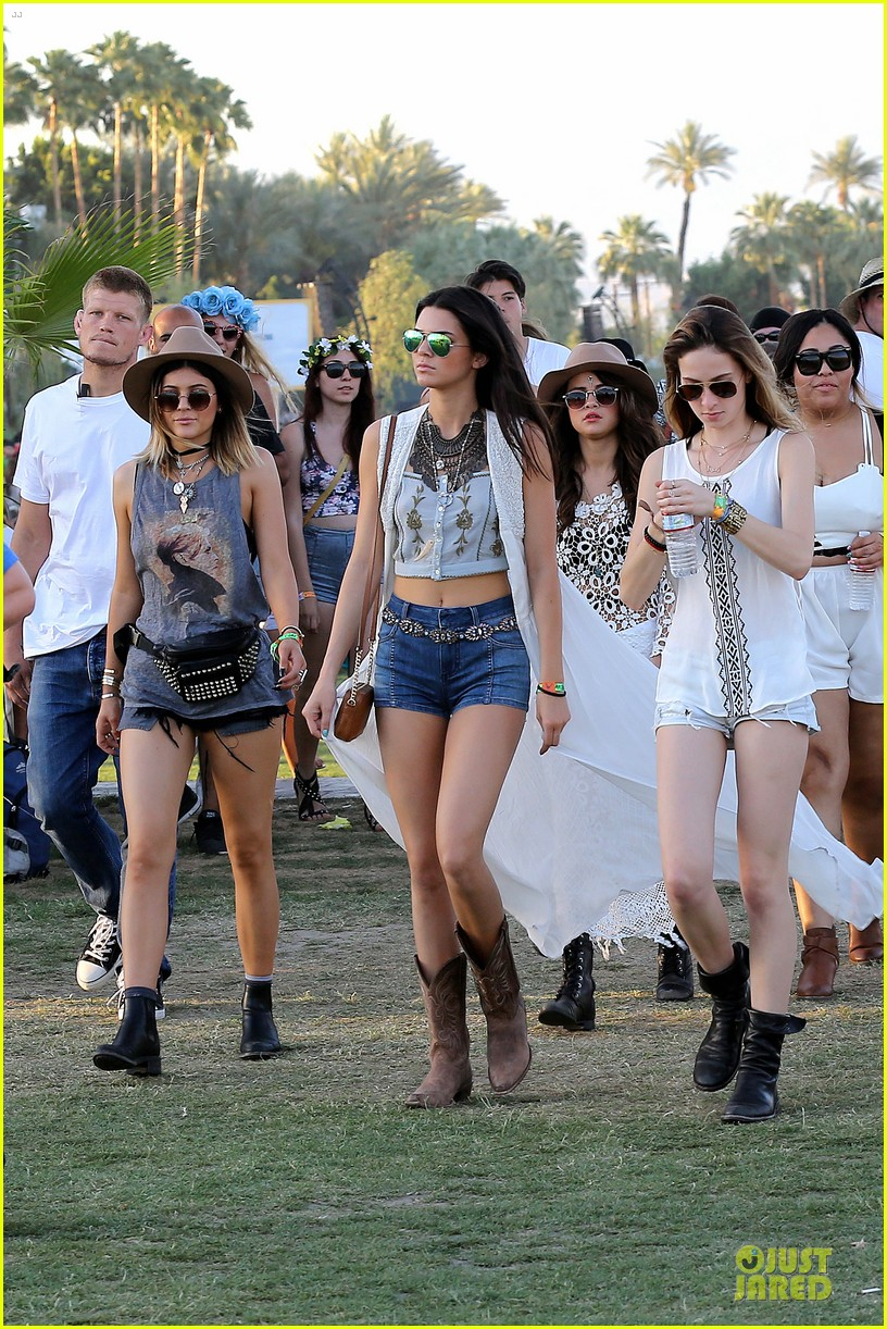 selena gomez bra sheer dress at coachella 05
