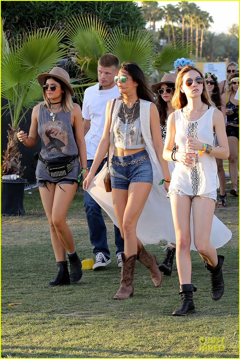 selena gomez bra sheer dress at coachella 113089458