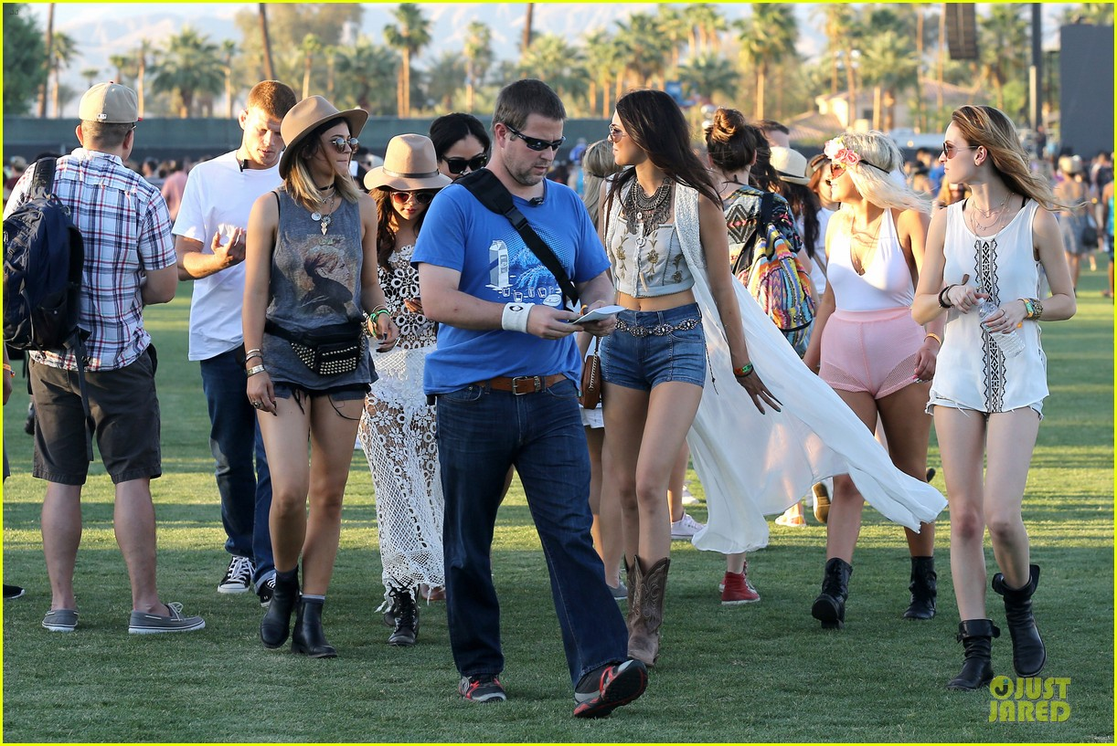 selena gomez bra sheer dress at coachella 293089476