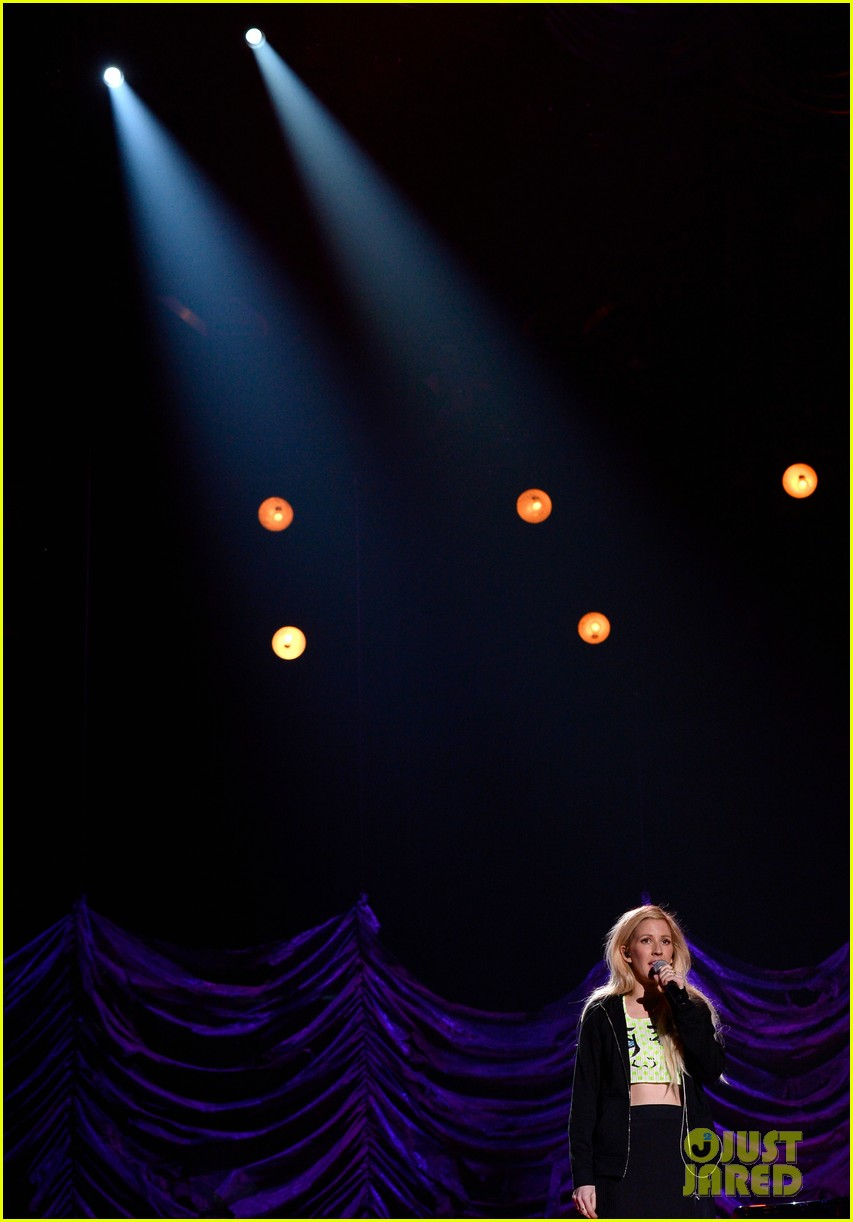 mtv movie awards 2014 conan obrien ellie goulding rehearse 12