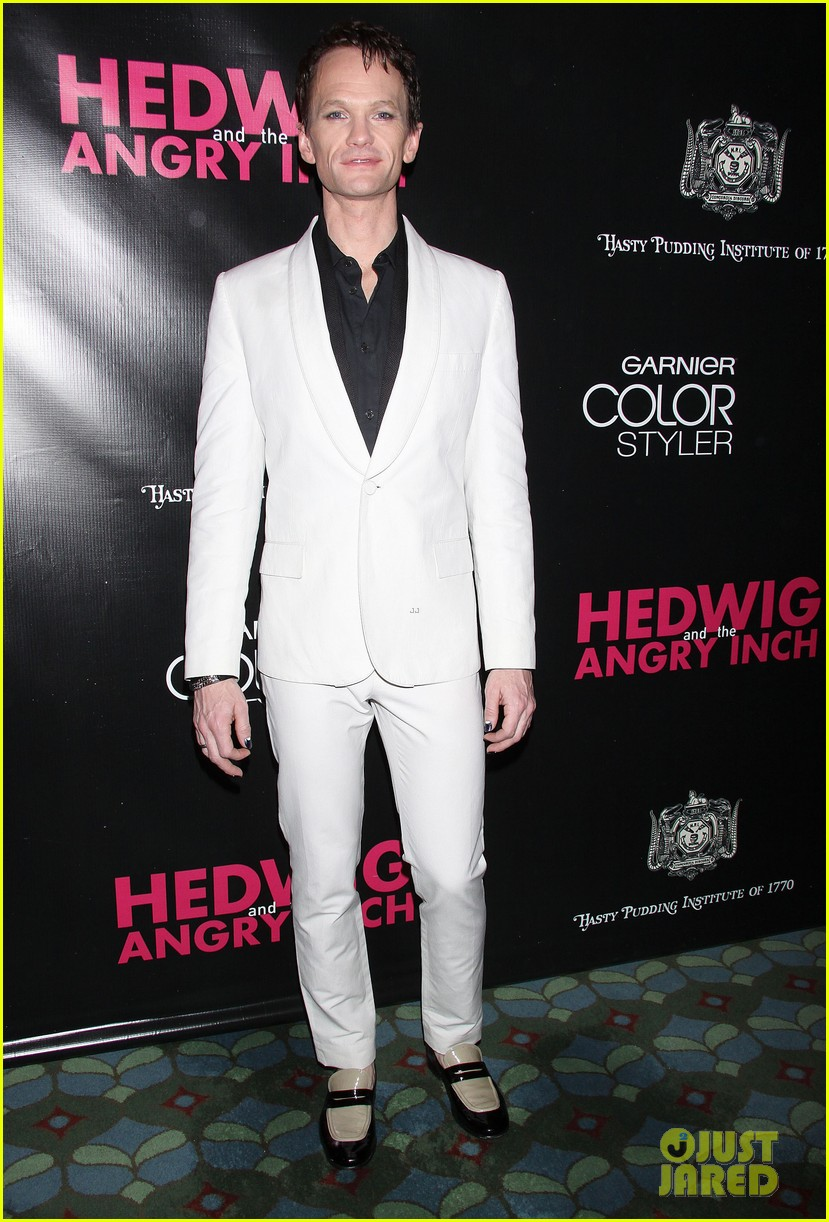 neil patrick harris opening night of hedwig and the angry inch opening 13
