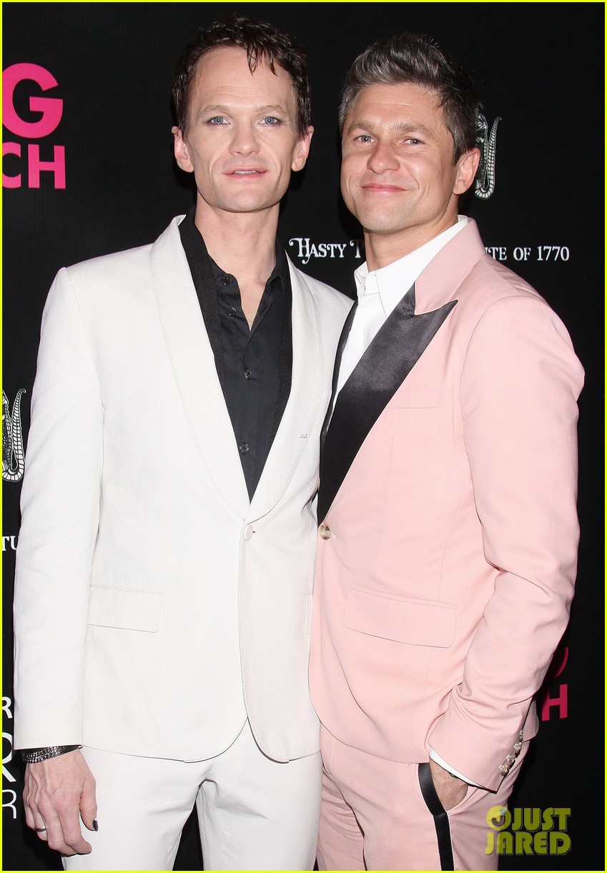 neil patrick harris opening night of hedwig and the angry inch opening 14