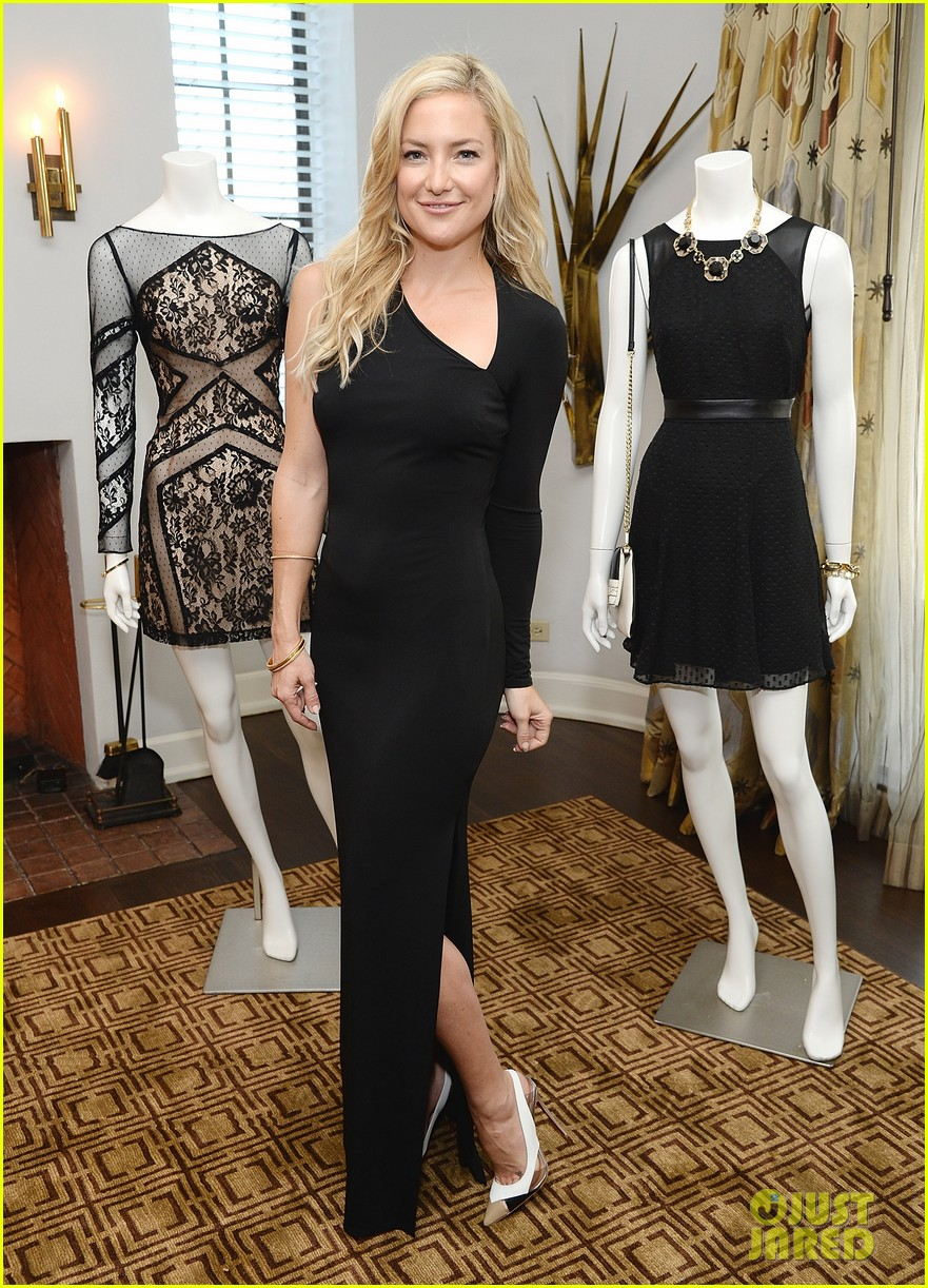 kate hudson sleek chic for anne taylor little black dress collection 12