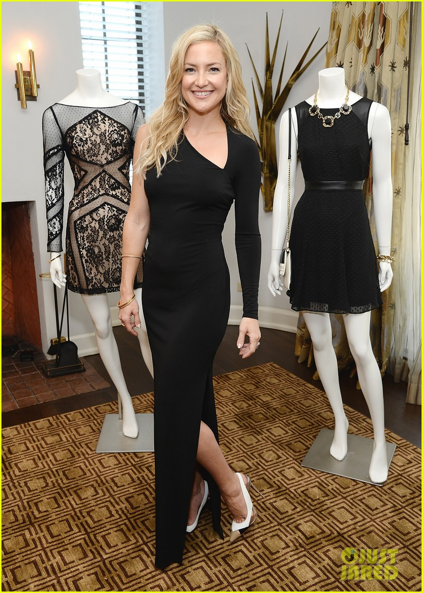 kate hudson sleek chic for anne taylor little black dress collection 13