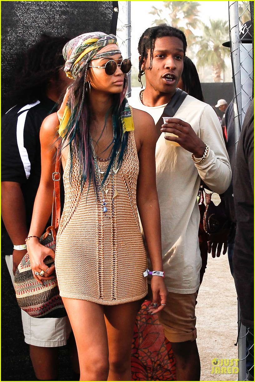 chanel iman asap rocky relaxes at coachella 043092472